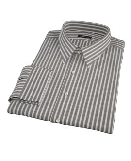 Black Stripe Men's Dress Shirt