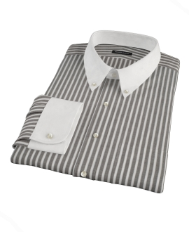 Black Stripe Dress Shirt 