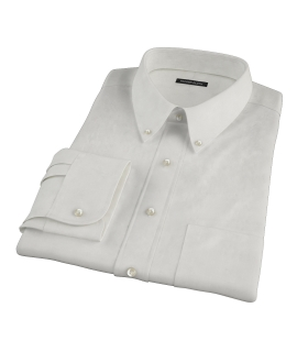 White Phantom Grid Dress Shirt