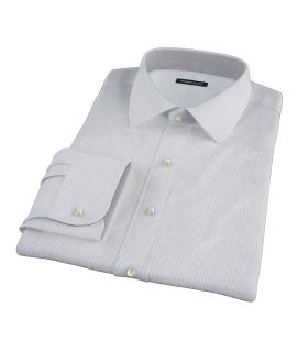 Morton Wrinkle-Resistant Royal Blue Stripe Tailor Made Shirt