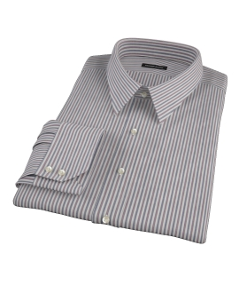 Navy and Red Pinstripe Tailor Made Shirt