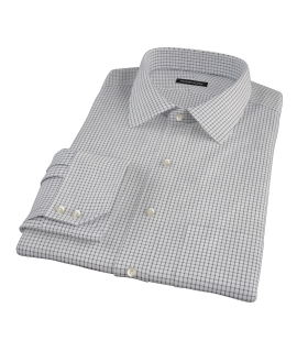 Black Grid Tailor Made Shirt