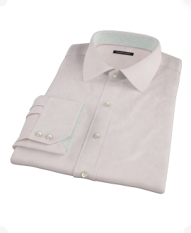 Light Pink 100s Broadcloth Custom Made Shirt