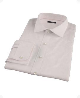 Light Pink 100s Broadcloth Tailor Made Shirt