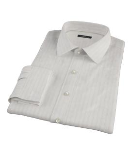 Light Pink Satin Stripe Tailor Made Shirt