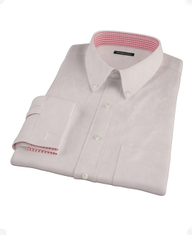 Japanese Pink Royal Oxford Men's Dress Shirt