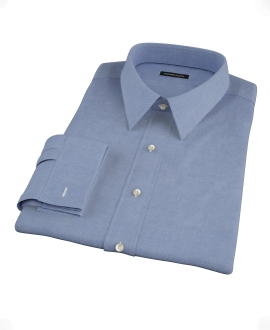 Blue Royal Oxford Fitted Dress Shirt
