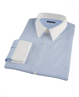 Canclini Blue Royal Twill Tailor Made Shirt