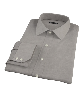 Charcoal 100s Oxford Tailor Made Shirt