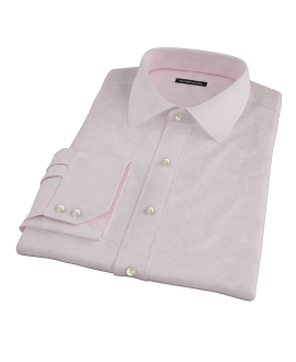 Light Pink Heavy Oxford Fitted Dress Shirt