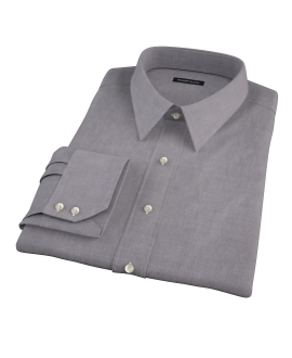 Charcoal Oxford Dress Shirt