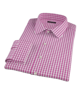 Viola Gingham Tailor Made Shirt
