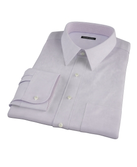 Lavender End on End Men's Dress Shirt 