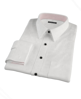 Cabo White Fitted Shirt 