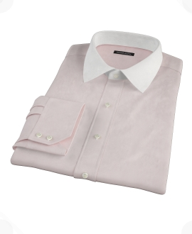 Pink End-on-End Custom Made Shirt
