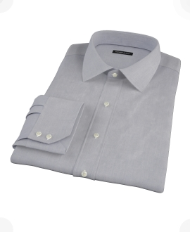 Blue End-on-End Tailor Made Shirt