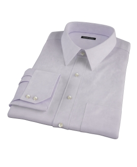 Lavender Easy Care Broadcloth Custom Dress Shirt 