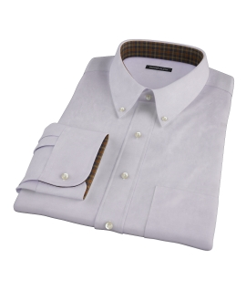 Lavender End on End Fitted Shirt