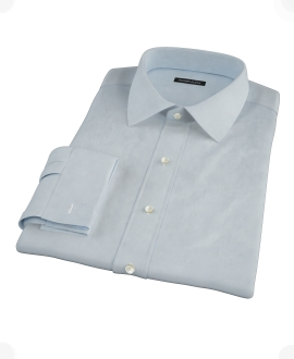 Light Blue Royal Oxford Custom Made Shirt
