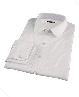 White Royal Oxford Tailor Made Shirt