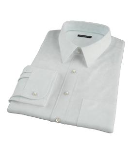 Bowery Mint Green Pinpoint Men's Dress Shirt