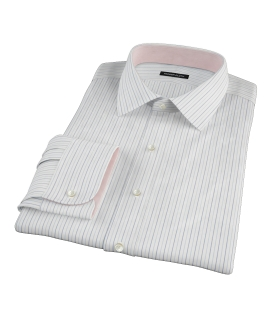 Japanese Blue Stripe Tailor Made Shirt