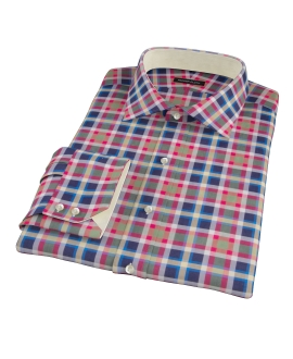 Summer Block Party Men's Dress Shirt 