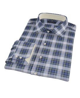 Blue Green Tartan Tailor Made Shirt 