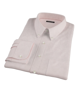 Bowery Light Orange Pinpoint Dress Shirt