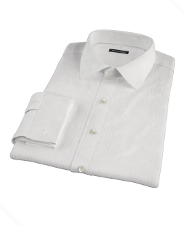 Lavender Stripe Twill Dress Shirt