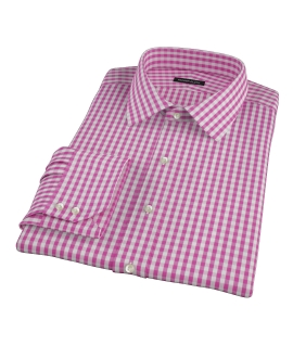 Viola Gingham Fitted Shirt