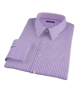 Purple Reverse Bengal Stripe Custom Made Shirt