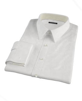 White Royal Twill Tailor Made Shirt