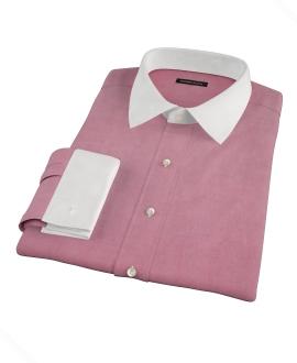 Red Chambray Custom Made Shirt