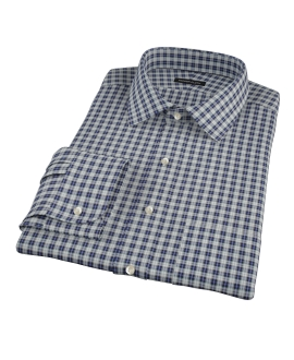 Sullivan Blue Plaid Custom Made Shirt