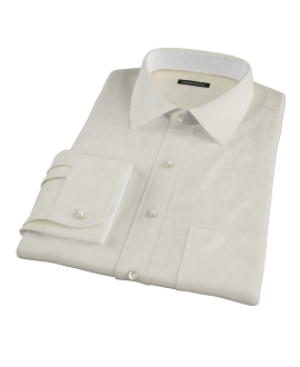 Bowery Yellow Pinpoint Dress Shirt