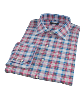 Essex Plaid Fitted Dress Shirt