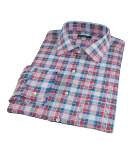 Essex Plaid Men's Dress Shirt