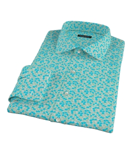 Canclini Flower Print Tailor Made Shirt
