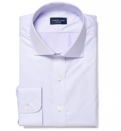 Greenwich Lavender Twill Tailor Made Shirt