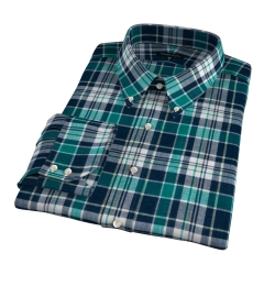 Dorado Green Plaid Custom Made Shirt