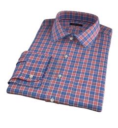 Sullivan Orange Melange Check Tailor Made Shirt