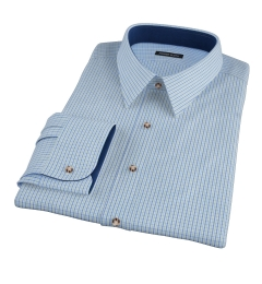 Green and Blue Regis Check Dress Shirt
