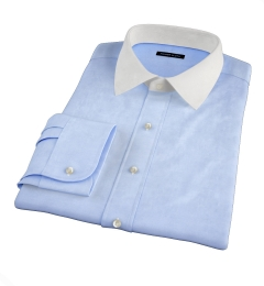 Light Blue Heavy Oxford Men's Dress Shirt