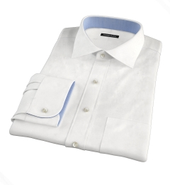 Grandi and Rubinelli White Linen Tailor Made Shirt