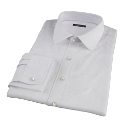 Wrinkle Resistant Lavender Multi Stripe Dress Shirt