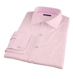 Morris Pink Wrinkle-Resistant Houndstooth Men's Dress Shirt