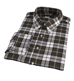 Canclini Pine Plaid Beacon Flannel Tailor Made Shirt