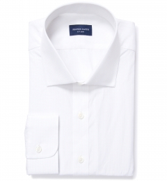 Modena Aqua and Apricot Tattersall Men's Dress Shirt