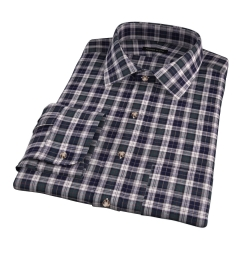 Japanese Green Donegal Tartan Custom Made Shirt